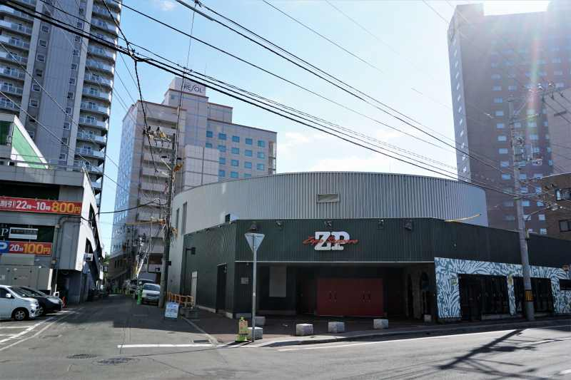 Zeep札幌の外観