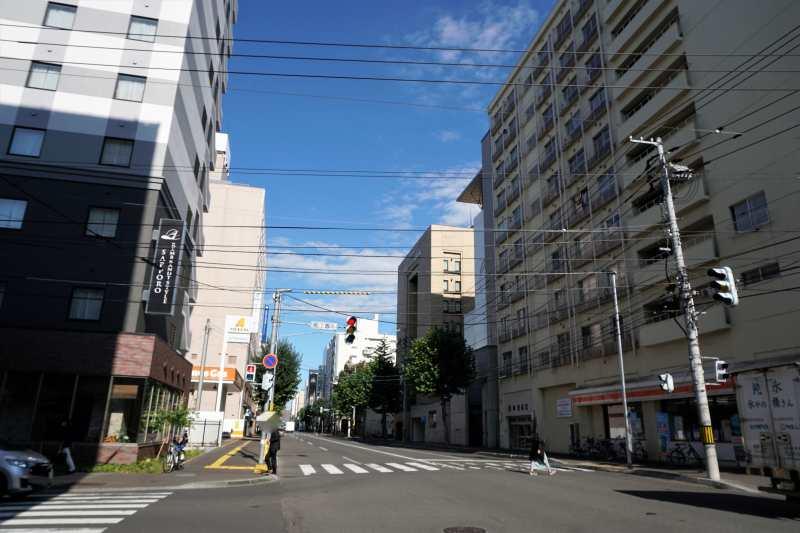レンブラントスタイル札幌の向かいにあるセイコーマート