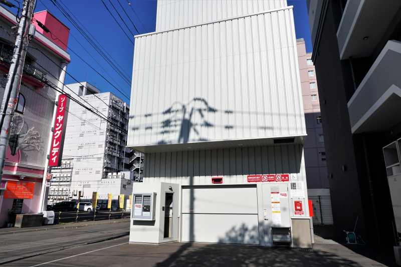 レンブラントスタイル札幌の駐車場
