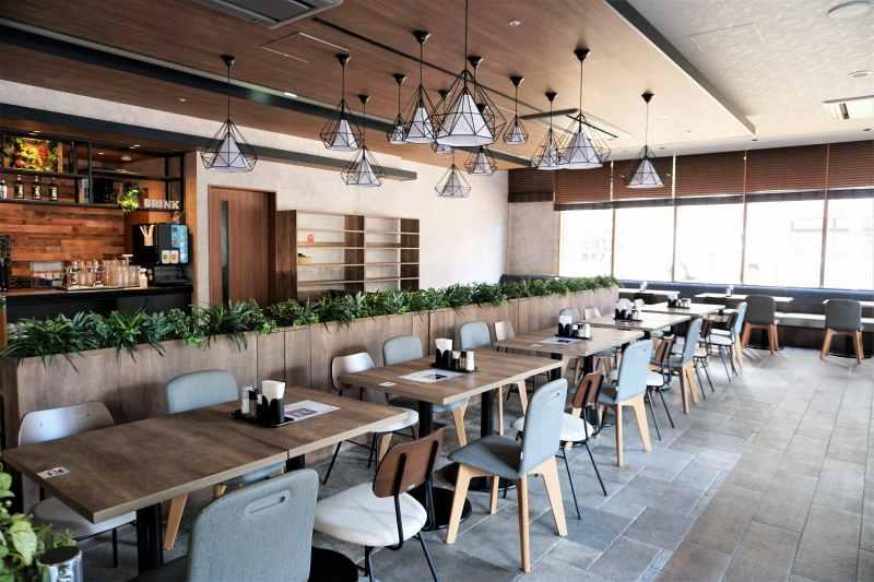 レンブラントスタイル札幌の朝食会場