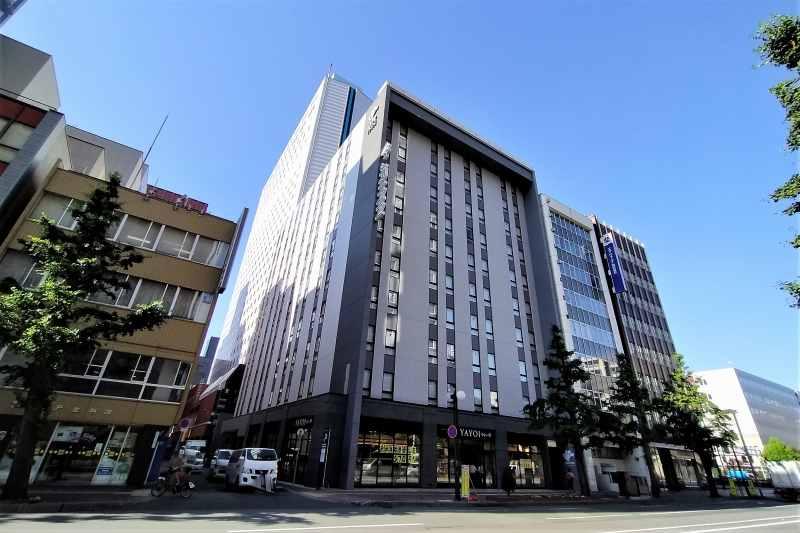 JRイン札幌駅南口の建物外観