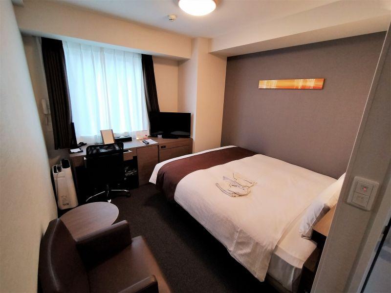 スマイルホテルプレミアム札幌すすきのののスタンダードツイン室内