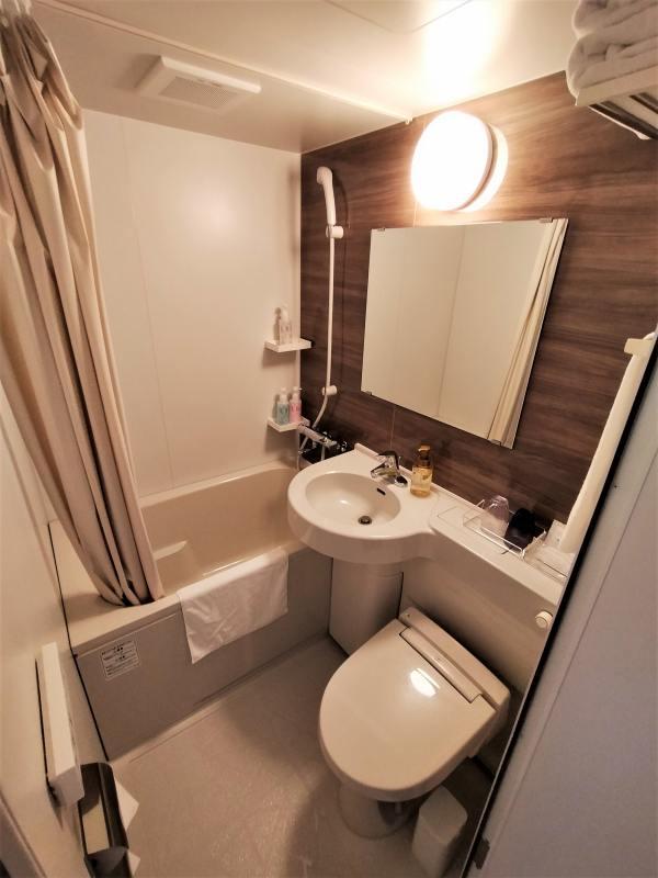 スマイルホテルプレミアム札幌すすきののトイレ・浴室