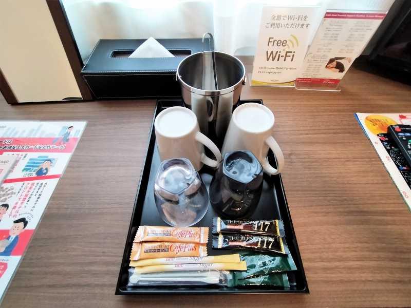 プレミアム札幌すすきののグラスやコーヒーなど