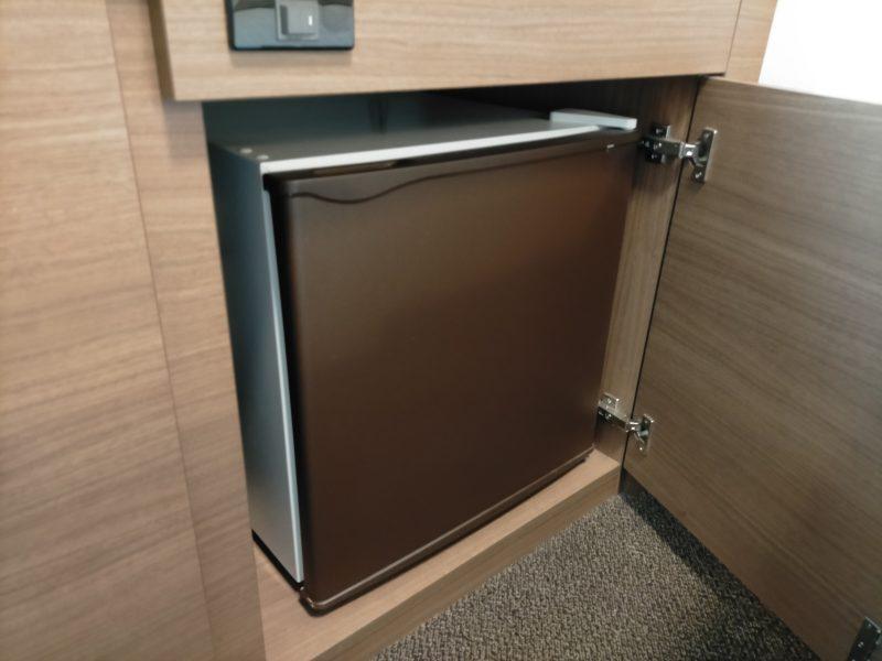 スマイルホテルプレミアム札幌すすきのの冷蔵庫
