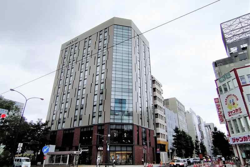 ホテル「ザノット札幌」の外観