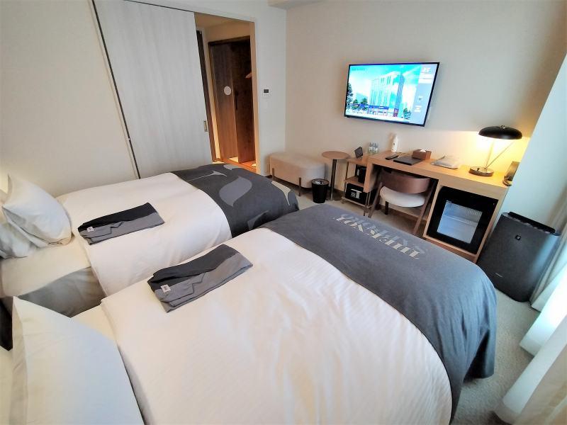 ザノット札幌のスタンダードツインルームの室内