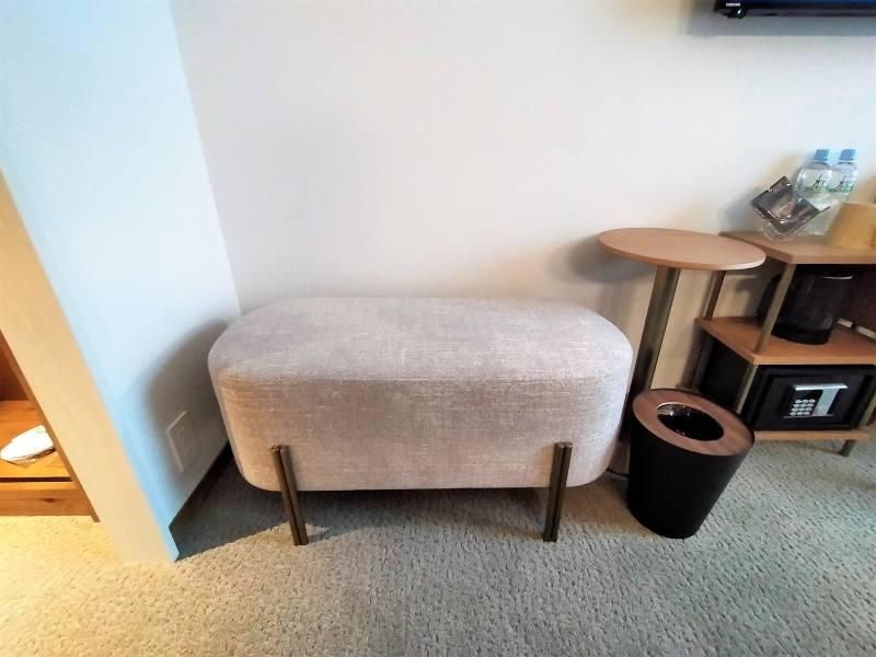 ザノット札幌のスタンダードツインルームのソファー