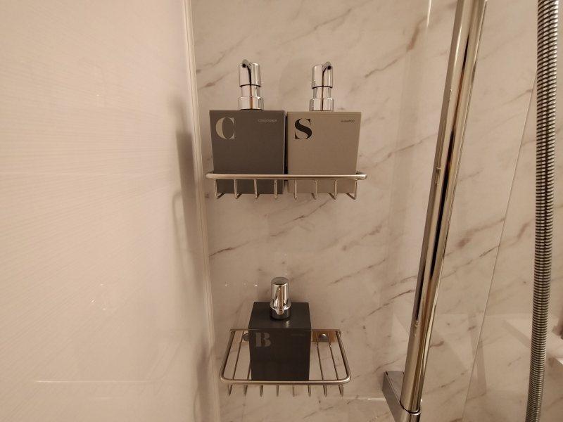ザノット札幌のスタンダードツインルームのシャンプ―など