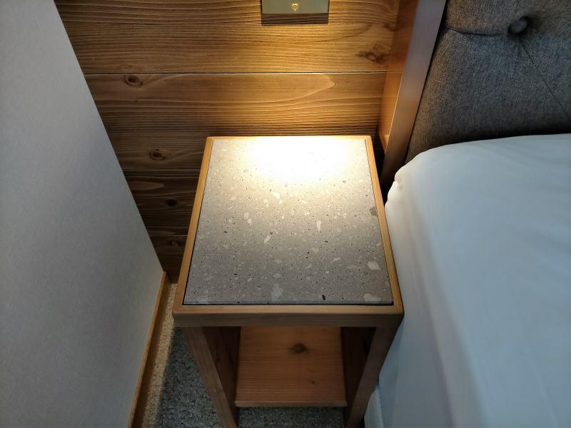 ザノット札幌のスタンダードツインルームのサイドボード