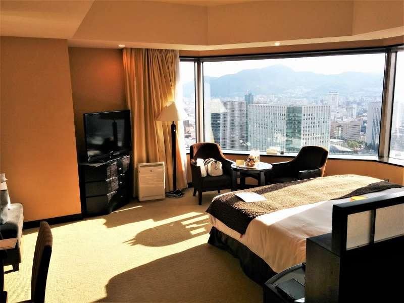 JRタワーホテル日航札幌の30階の客室