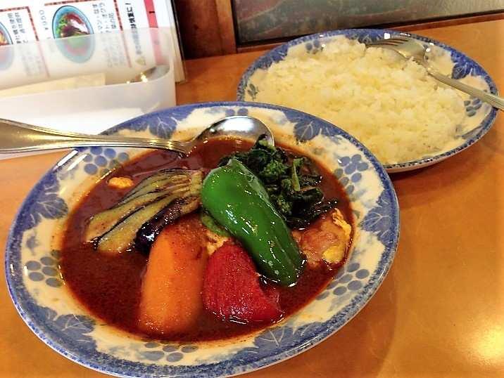 木多郎澄川本店のスープカレー