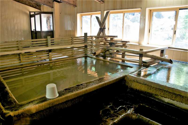 豊平峡温泉の内風呂