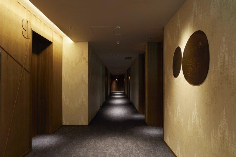 「ザノット札幌」の廊下