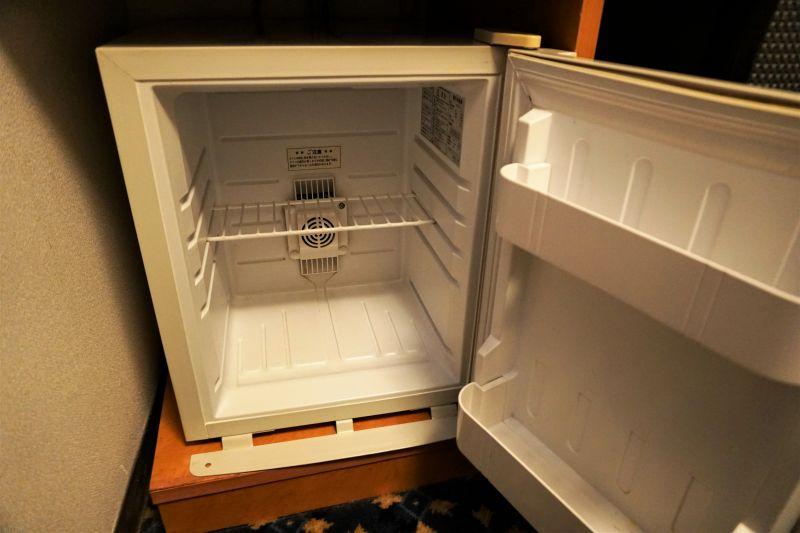「プレミアホテルキャビン札幌」の冷蔵庫