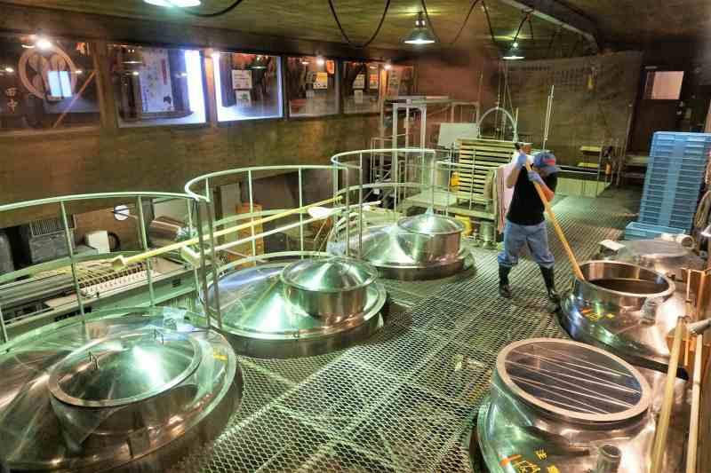 田中酒造の工場