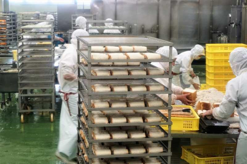 「かま栄」の工場
