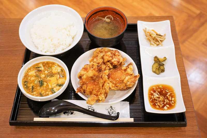 中国料理布袋の「ランチセット」