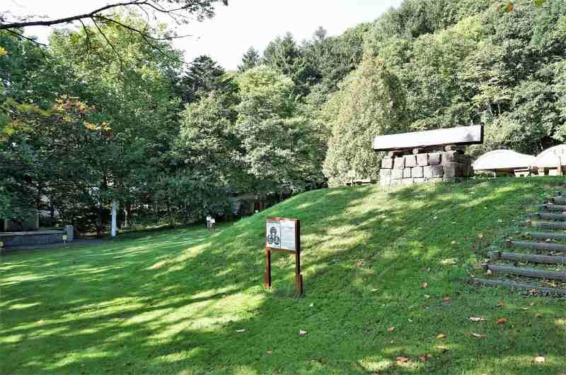 「栗山公園」のキャンプ場