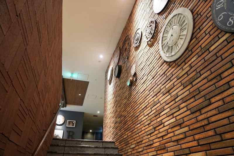 「ラ・ジェント・ステイ札幌大通」の階段