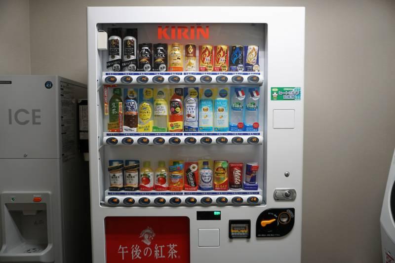 「ラ・ジェント・ステイ札幌大通」の自動販売機