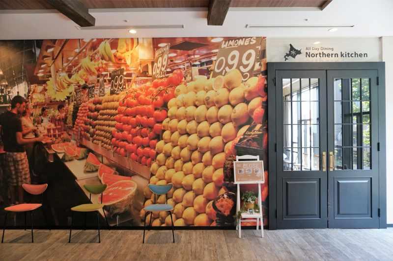 「ラ・ジェント・ステイ札幌大通」のレストラン入口