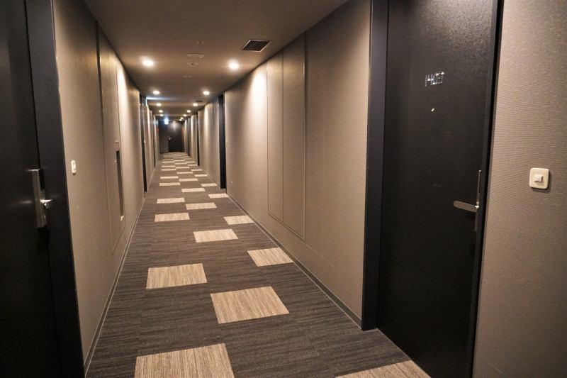 「ラ・ジェント・ステイ札幌大通」の廊下