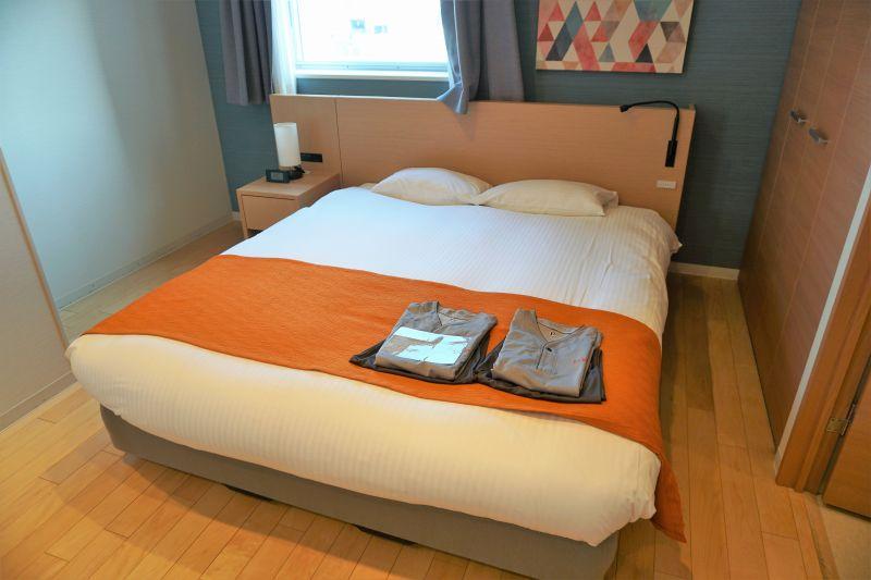 「ラ・ジェント・ステイ札幌大通」のベッド