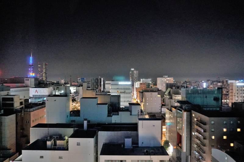 「ラ・ジェント・ステイ札幌大通」の夜景