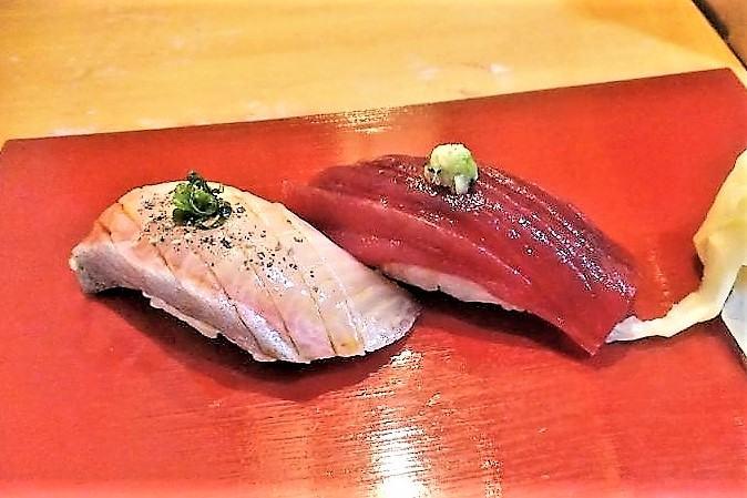 「伊勢鮨駅中店」のお寿司