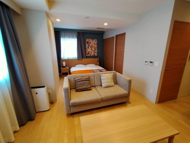 「ラ・ジェント・ステイ札幌大通」のレジデンシャルダブルの室内