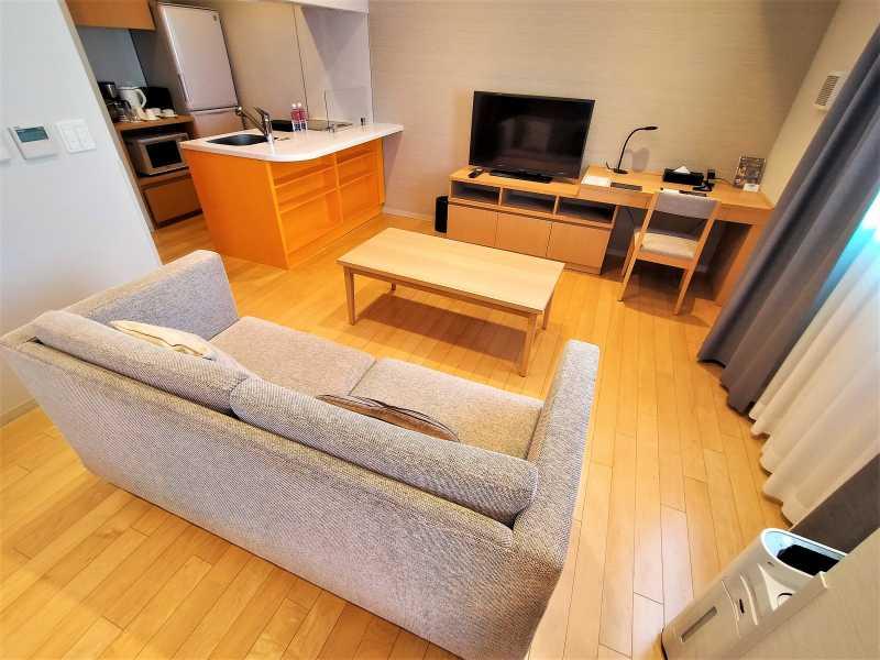 「ラ・ジェント・ステイ札幌大通」の客室内
