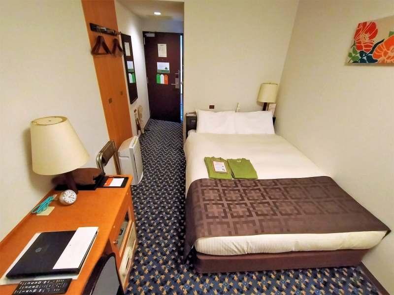 「プレミアホテルキャビン札幌」の客室内