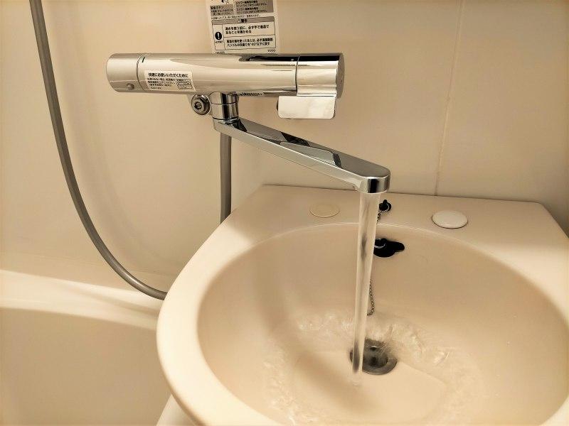 「プレミアホテルキャビン札幌」の洗面台