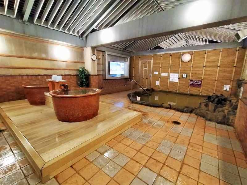「プレミアホテルキャビン札幌」の露天風呂