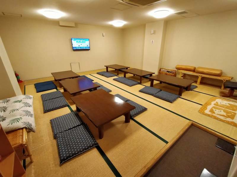「プレミアホテルキャビン札幌」の湯上り所