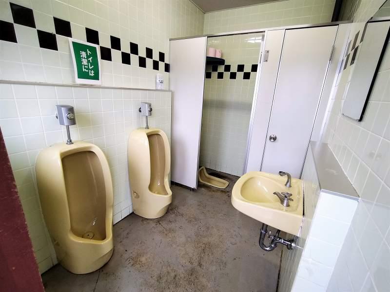 「北村中央公園ふれあい広場」のトイレ
