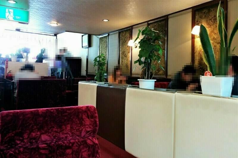 「あまとう」2階の喫茶室