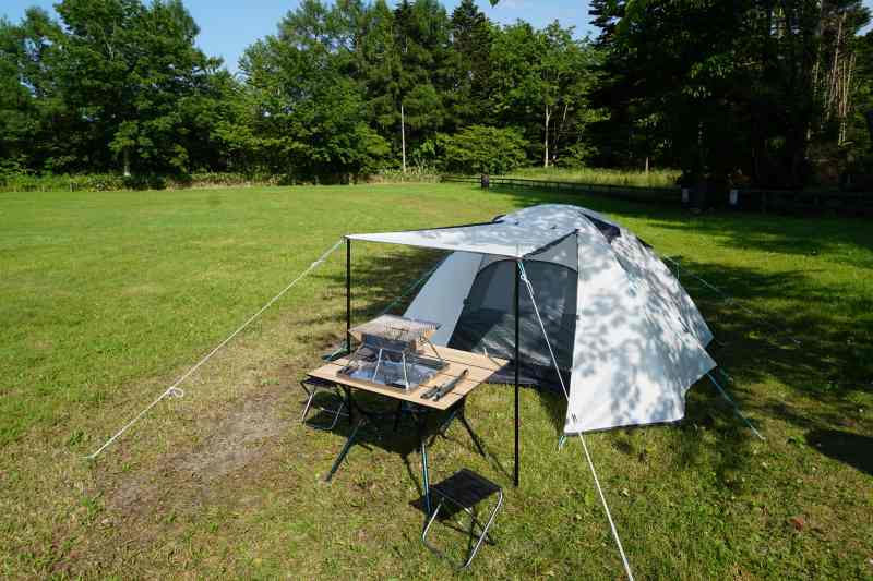 ネイチャーハイクのテント