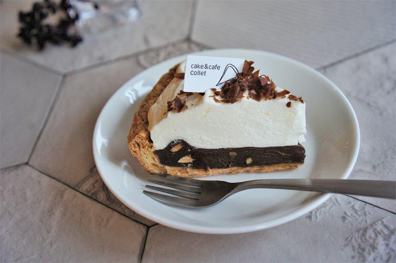 コレットの生チョコパイがテーブルに置かれている