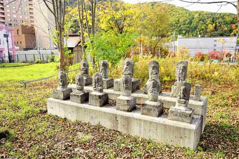 定山寺の仏像