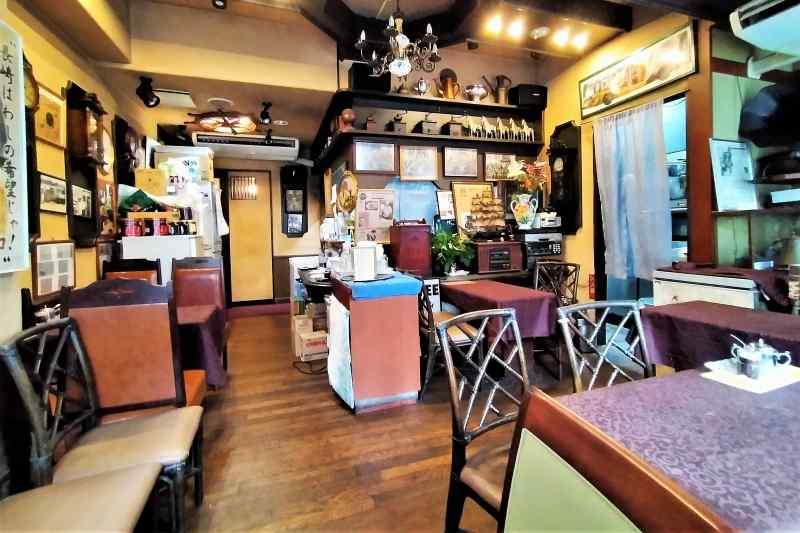 ツル茶んの店内(3階)