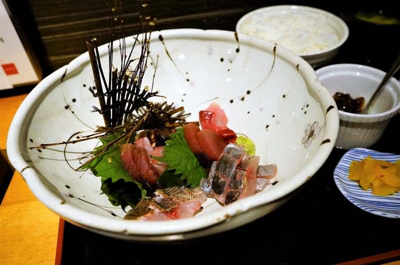 魚たつの市場直送刺身膳
