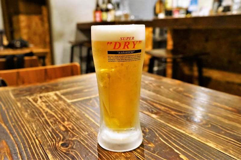 ライフイズジャーニーの生ビール