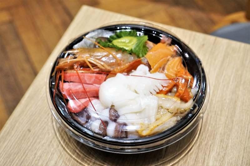 髭 海鮮丼 デリバリー