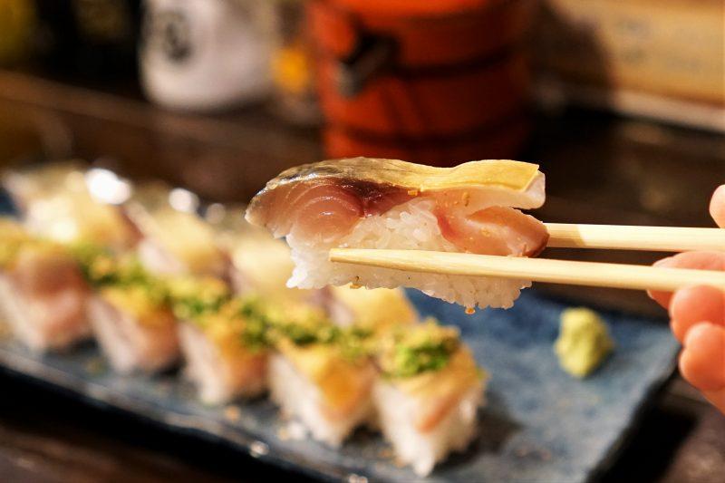 二代め鮨浪花 の 松前寿司