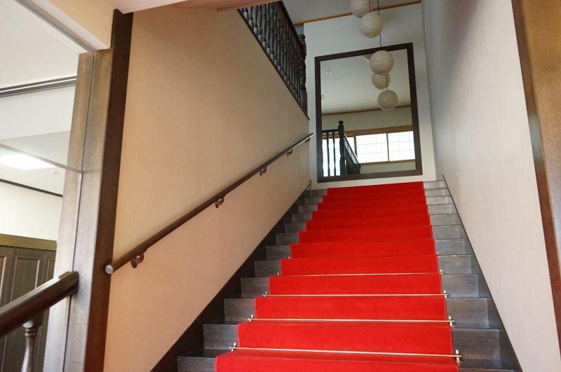 小樽貴賓館の階段