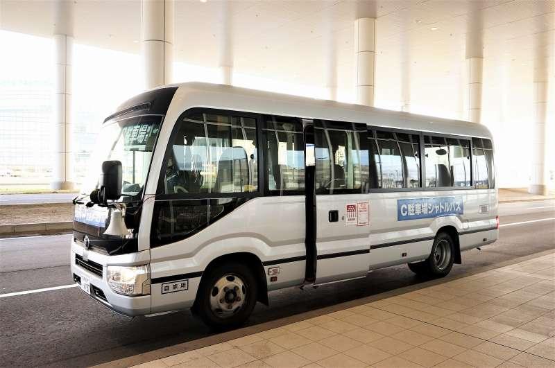 新千歳空港 C駐車場シャトルバス