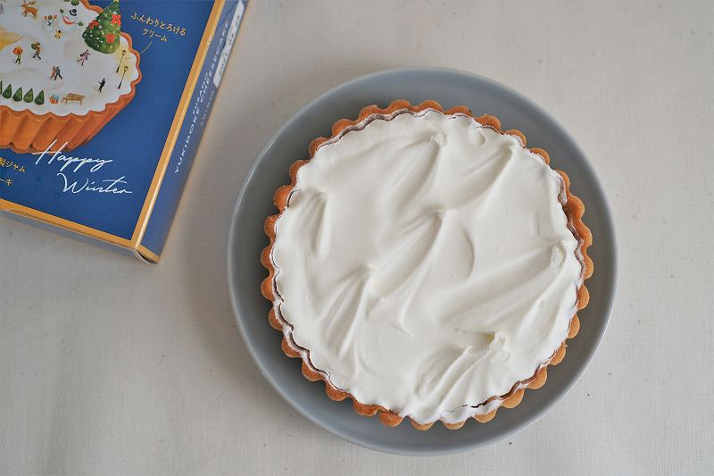 ウォルトで注文した ふらの雪どけチーズケーキ