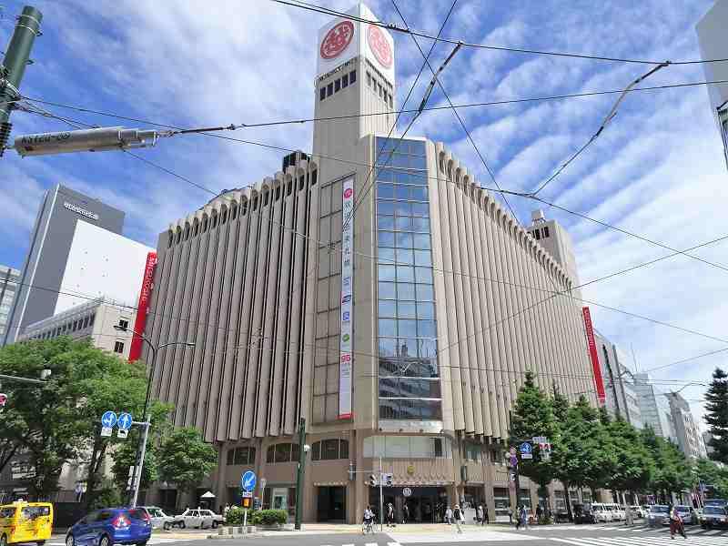 札幌の中心部にある札幌三越の外観